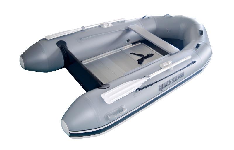 Schlauchboote mit Bodenplatten
